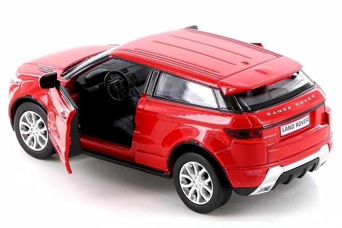 Amazon.com: RMZ City Land Rover Range Rover Evoque, Red 555008 - Diecast Model Toy Car but NO BOX: Toys & Games