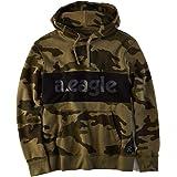 【アメリカンイーグル】 AMERICAN EAGLE コットンカラーブロックロゴフード AE Cotton Color Block Logo Hoodie T-shirt 【並行輸入品】