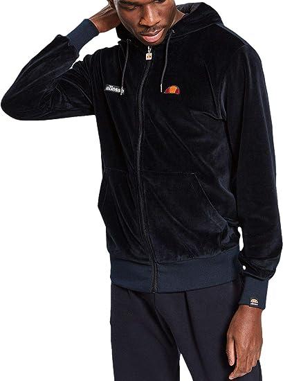d8dd290f9c ellesse Men's Cione Zip Hoodie, Black