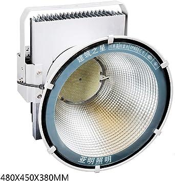 800W Foco Proyector LED Exterior, IP66 a prueba de agua Grúa torre ...