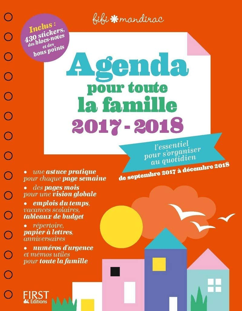 Agenda pour toute la famille: Amazon.es: Fifi Mandirac ...