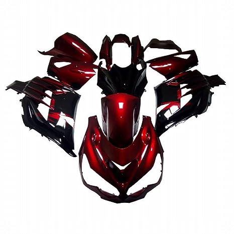 Embellecedores Kit cuerpo trabajo marco plástico ABS Custom motocicleta carenado Carenado Kit para Kawasaki Ninja ZX14R