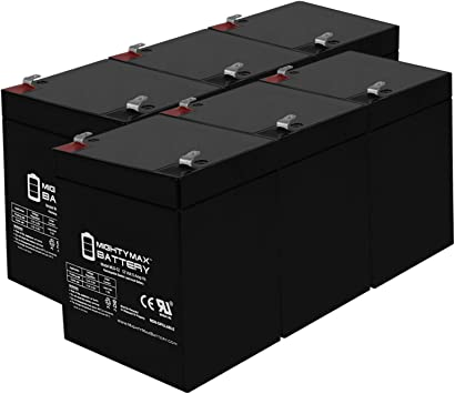 Mighty Max Battery 12V 5AH SLA Battery Replacement for Centennial CB1250-6 Pack Brand Product
