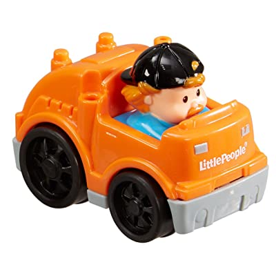 Fisher-Price Little People Wheelies Recycle Truck: Toys & Games