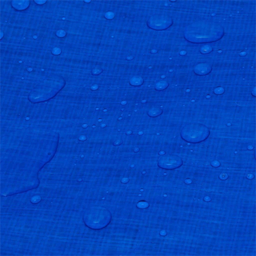 LEGOUGOU Blaue Planenstoffbezogene Plane Aus Aus Aus Polyethylengewebe 175 G   M2 5d2a6e