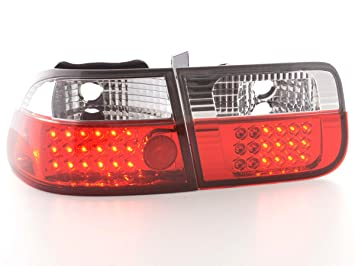 FK Automotive FKRLXLHO109 Montaje de Luces Traseras LED, Color Blanco/Rojo: Amazon.es: Coche y moto