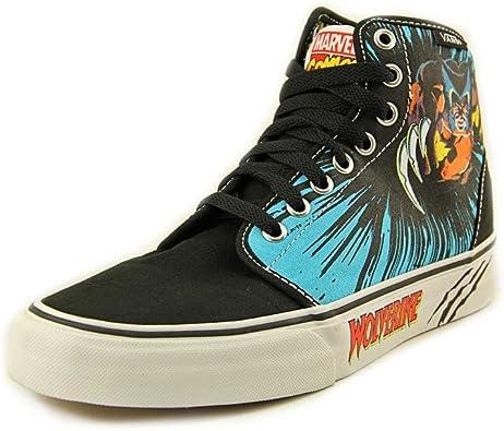 Sneakers Marvel Comics Shoes Black