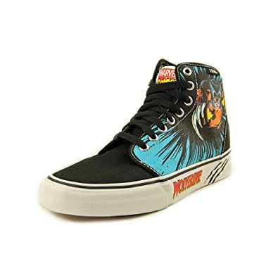 03dcabd2c2 Vans Wolverine 106 HI Men s Sneakers Marvel Comics Shoes Black
