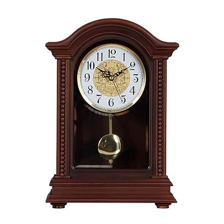 Zhangmeiren Americano clásico Reloj Reloj Mesa de Mesa Sala de ...