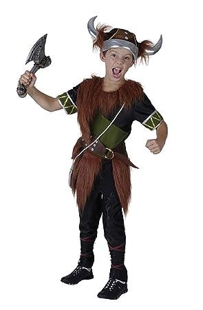 Viking Warrior (Fur) - Kids Costume 3 - 4 years  sc 1 st  Amazon UK & Viking Warrior (Fur) - Kids Costume 3 - 4 years: Amazon.co.uk: Clothing