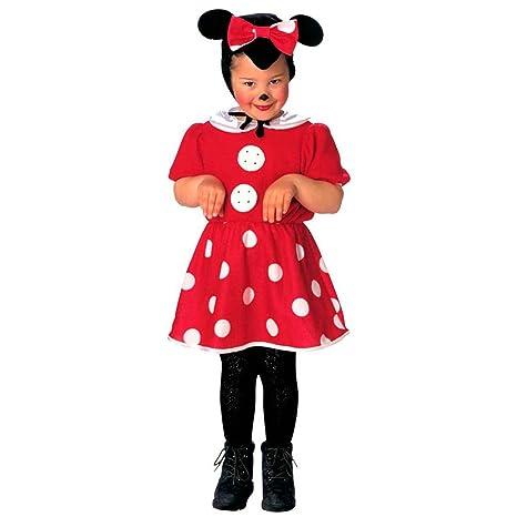 64c743b007 Disfraz infantil ratón Minnie Mouse vestido niña roedor disney animales  chicas vestuario