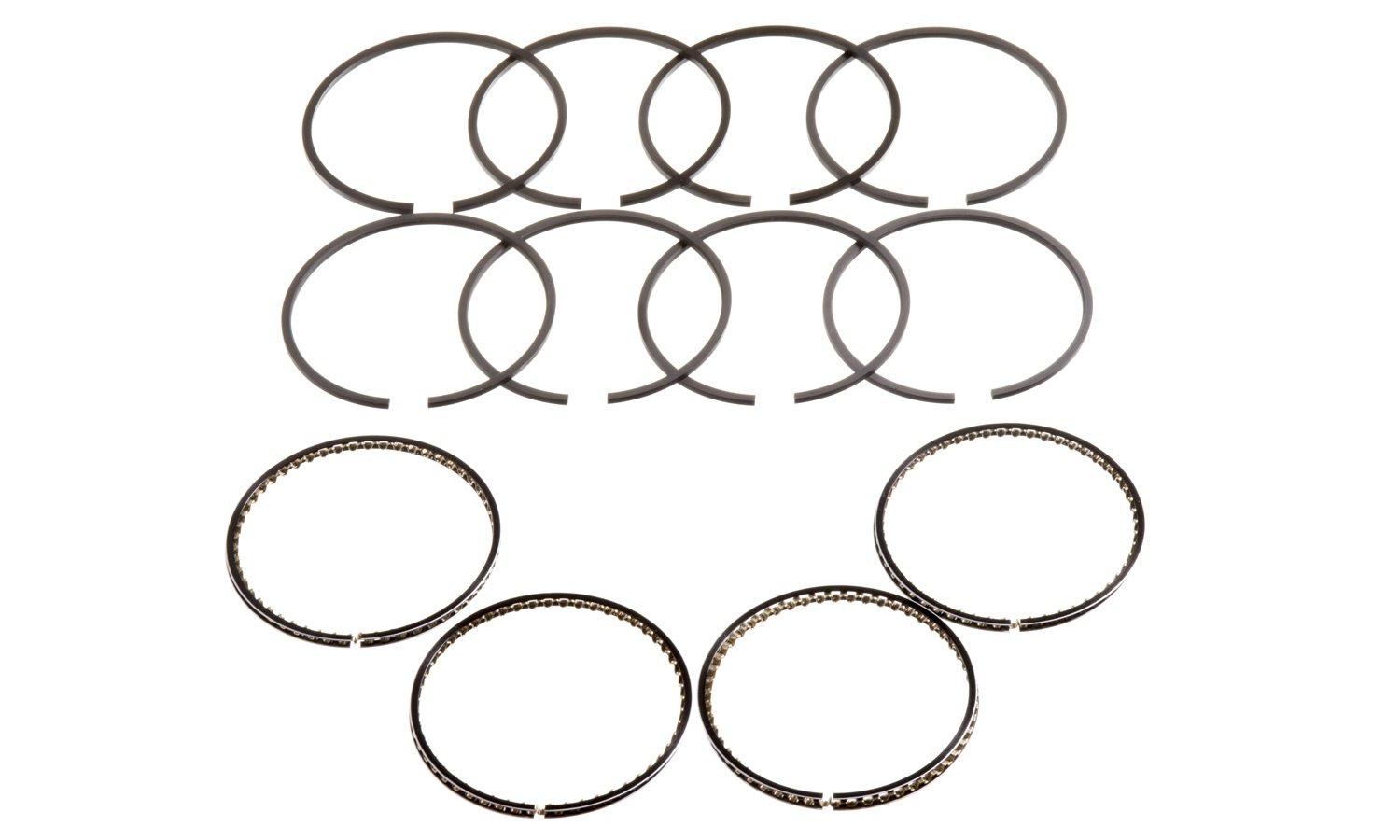 Hastings 4198040 4-Cylinder Piston Ring Set