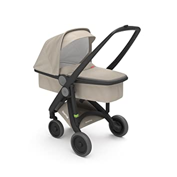 Cochecito UPP Carrycot Chassis negro Kit Nacelle Beige greentom: Amazon.es: Bebé