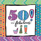 Cypress Home 4NC8150 20 Piece 50th Birthday Paper Cocktail Napkins, Multicolored