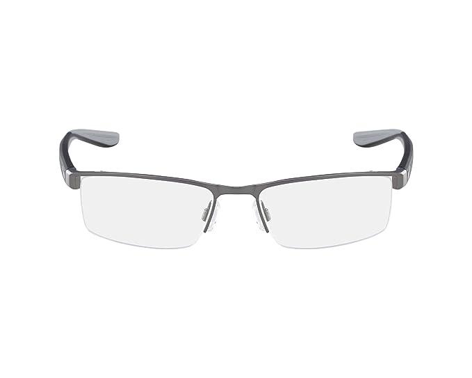 Nike 8173 065 52, Monturas de Gafas para Hombre, Gunmetal: Amazon.es: Ropa y accesorios