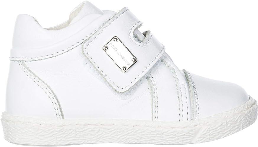 Dolce\u0026Gabbana Basket Enfant Bianco 20 EU: Amazon.fr: Chaussures et