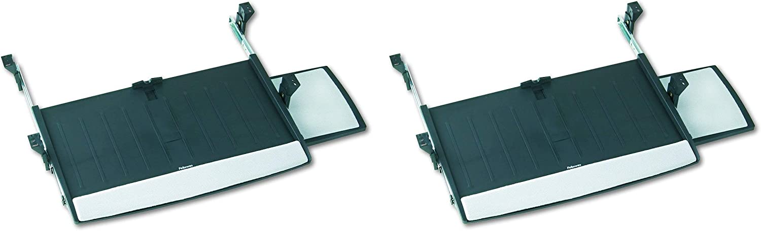 Fellowes Office Suites Deluxe Keyboard Drawer (8031207) (Pack of 2)
