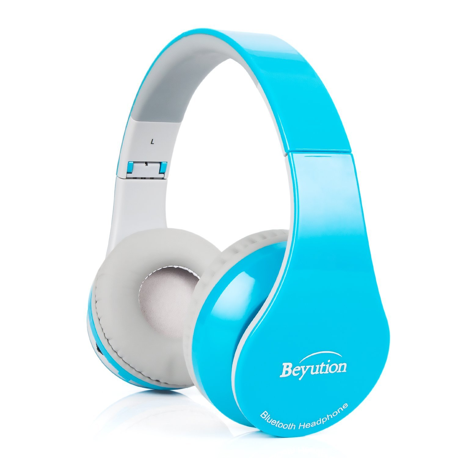 Back to School Gift-New Blue Color Beyution513@ Over-Ear- HiFi Stereo Clear Mic-Phone- Bluetooth Headphones-with Retail Package!