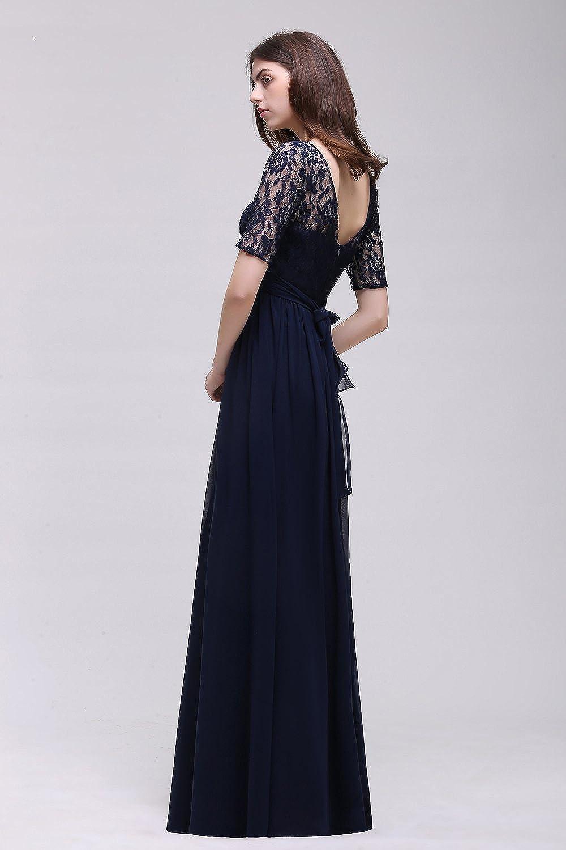 MisShow# Damen Elegant Spitzen Abendkleid Abschlusskleider ...