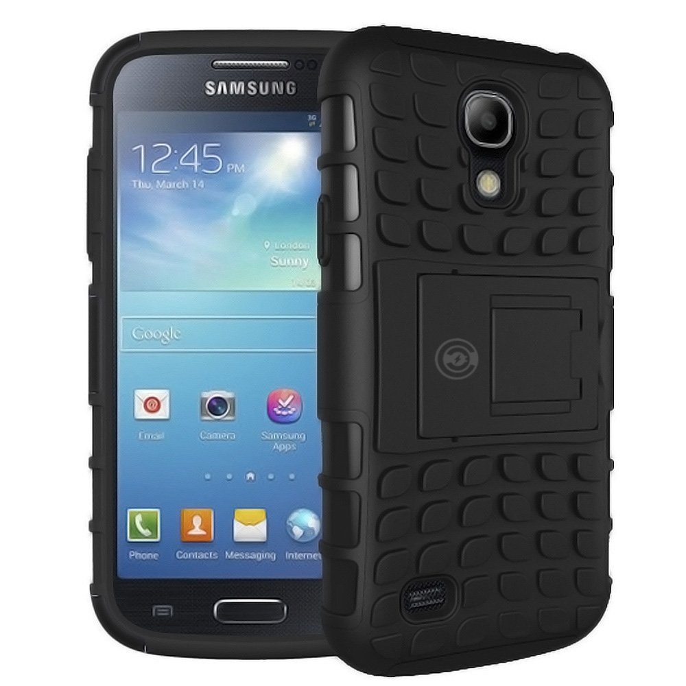 Galaxy S4 Case Samsung Heavy Duty Zoom Black Protective Tough Armorbox Dual Layer Phone Cases With Hybrid Hard Soft Cover By Cable And