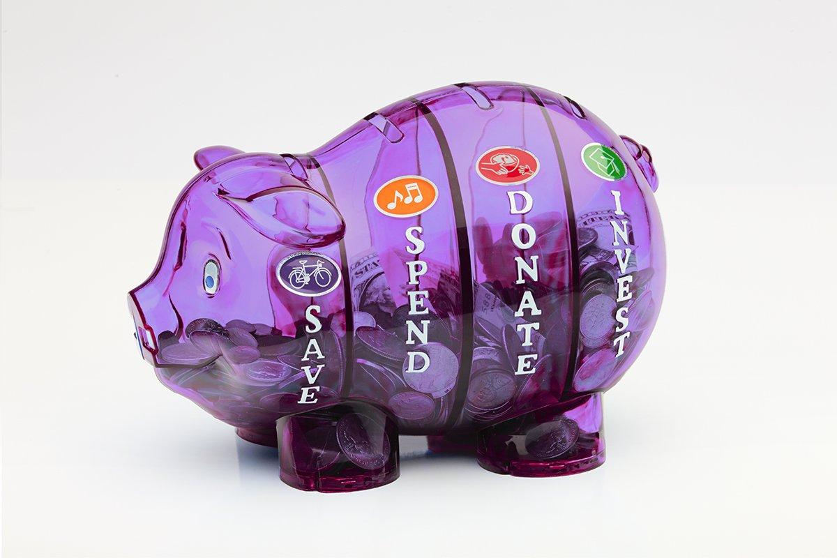 Money Savvy Pig - Purple by Money Savvy Generation