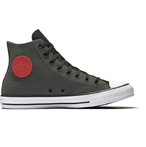 6d5c710780d2 Converse Chuck Taylor All Star Kurium High Top Sneaker Black Cast Iron Casi  6 B(M) US Women   4 D(M) US Men  Buy Online at Low Prices in India -  Amazon.in