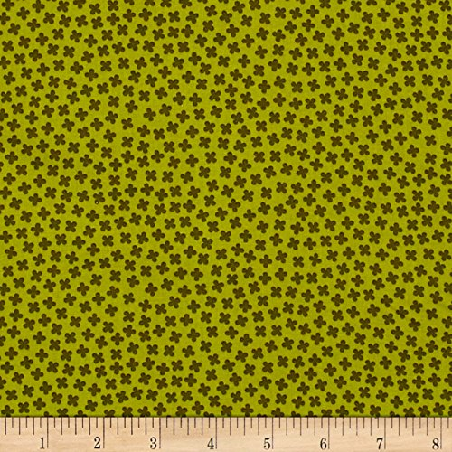 Fabric Paintbox (Kaufman Paintbox Rhoda Ruth Buds Pickle Fabric by The Yard)