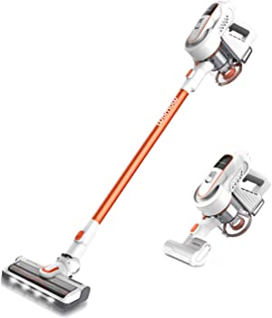 Womow W9 300-Watt 2-in-1 Cordless Stick Vacuum Cleaner