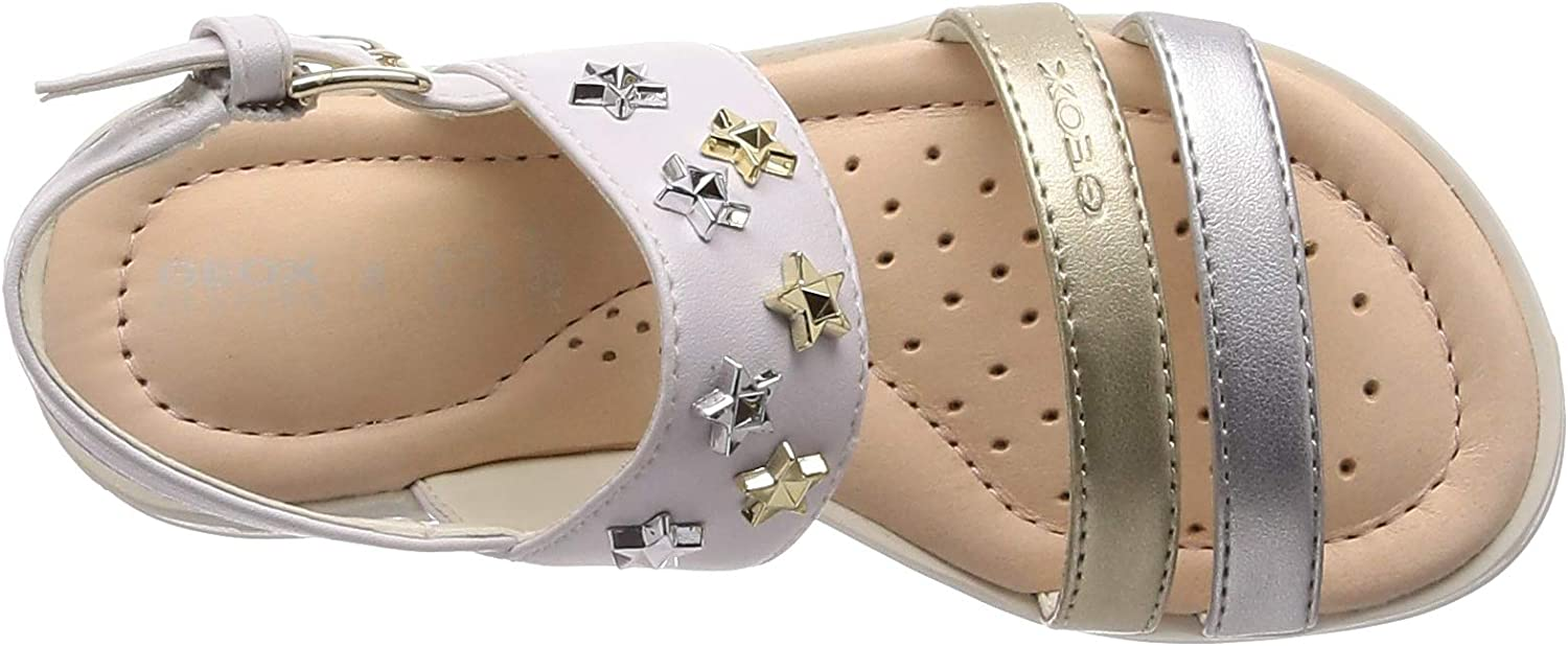 Geox J Sandal Coralie Girl Bout Ouvert Fille