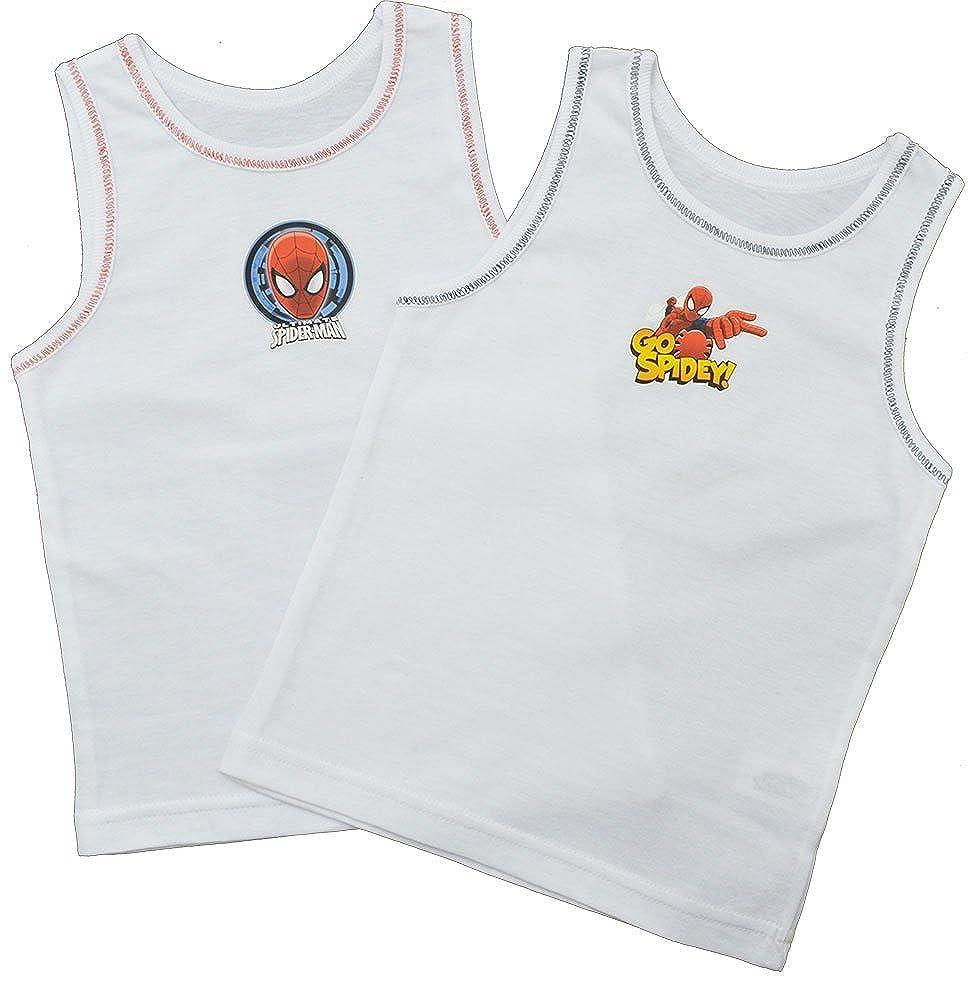 Boys Marvel Spiderman 2Pack Vests