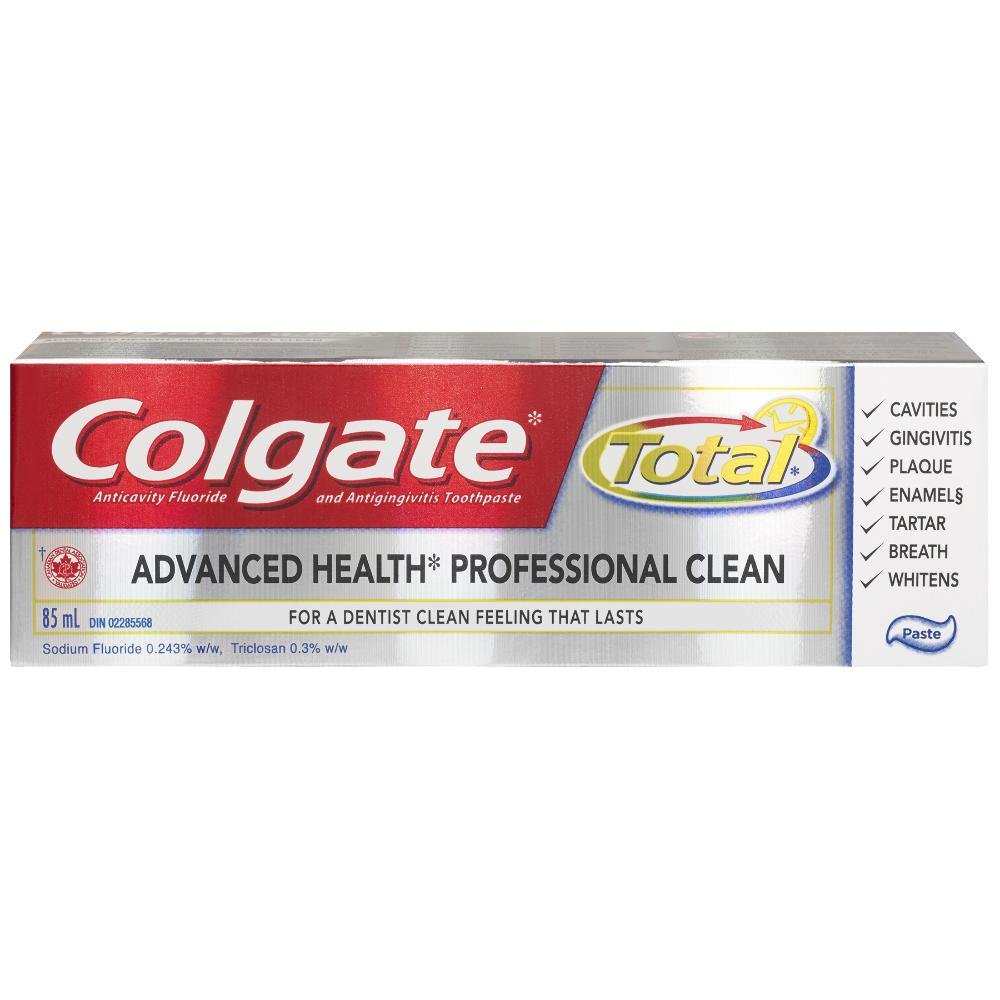 Colgate Total Advanced Health Professional Clean Toothpaste, 85 mL 320885