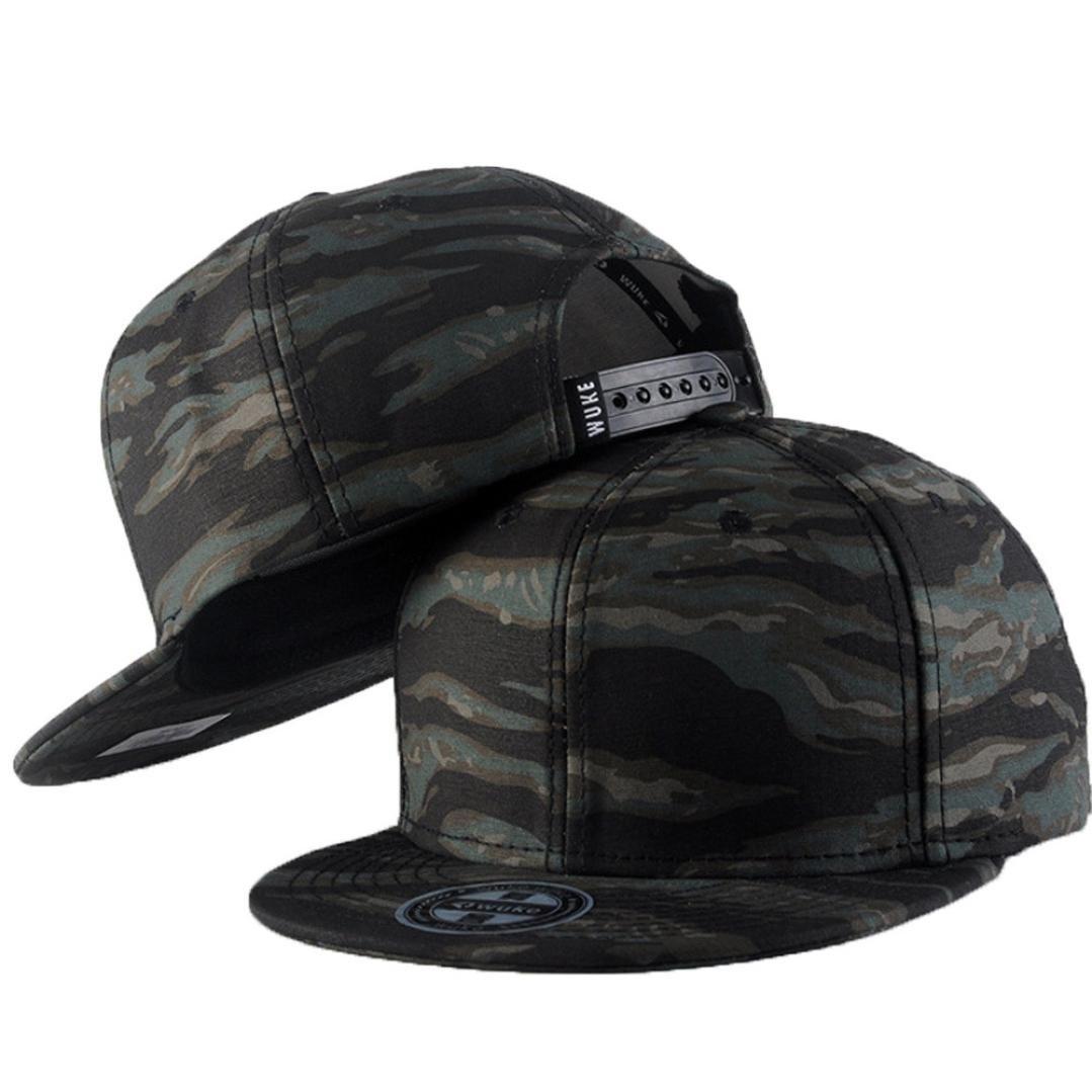 Gorra de béisbol, Hombre Mujer Camuflaje Cap, Snapback Hip Hop ...