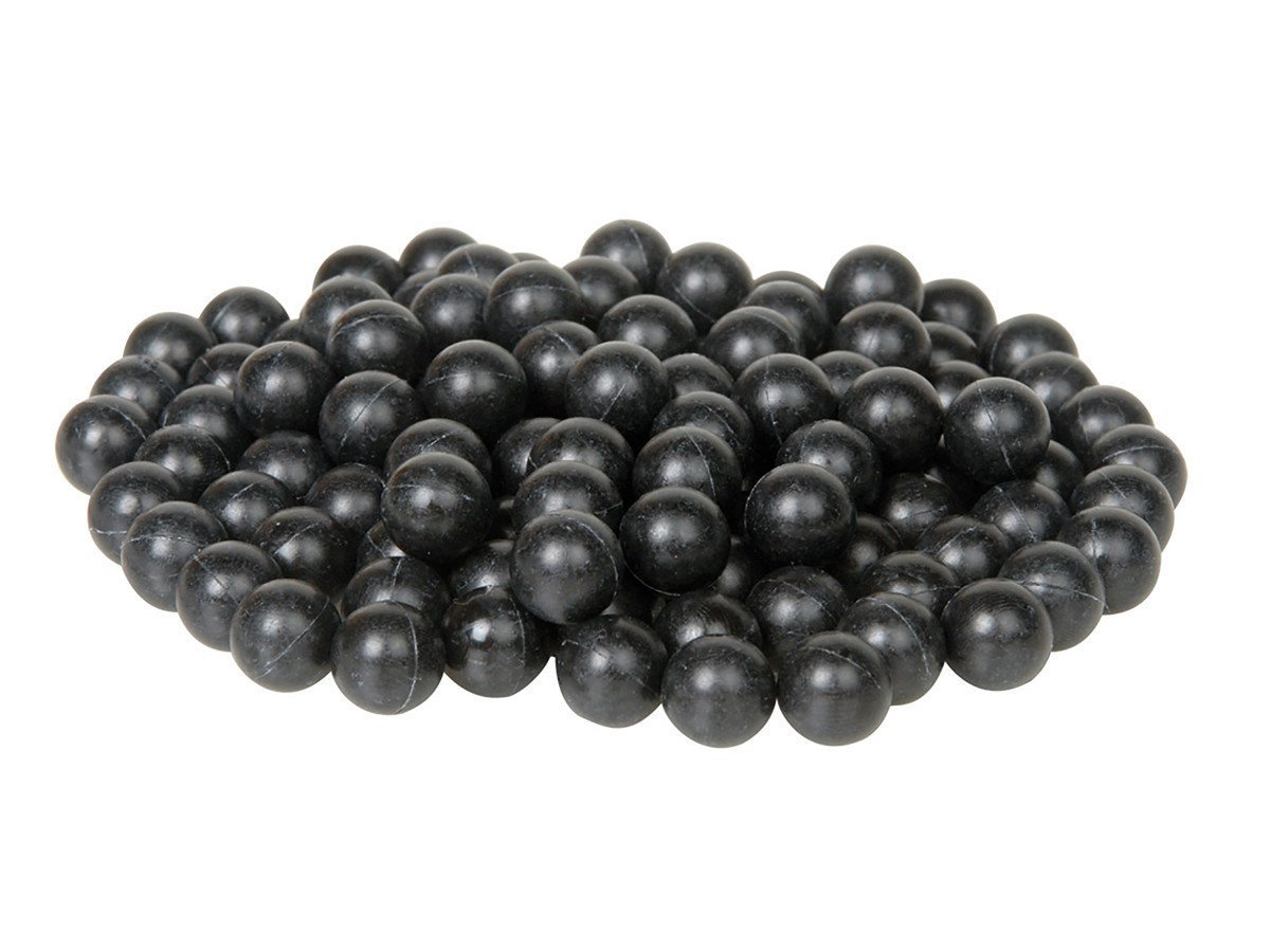43 Caliber Black Rubberballs 500 count by Umarex