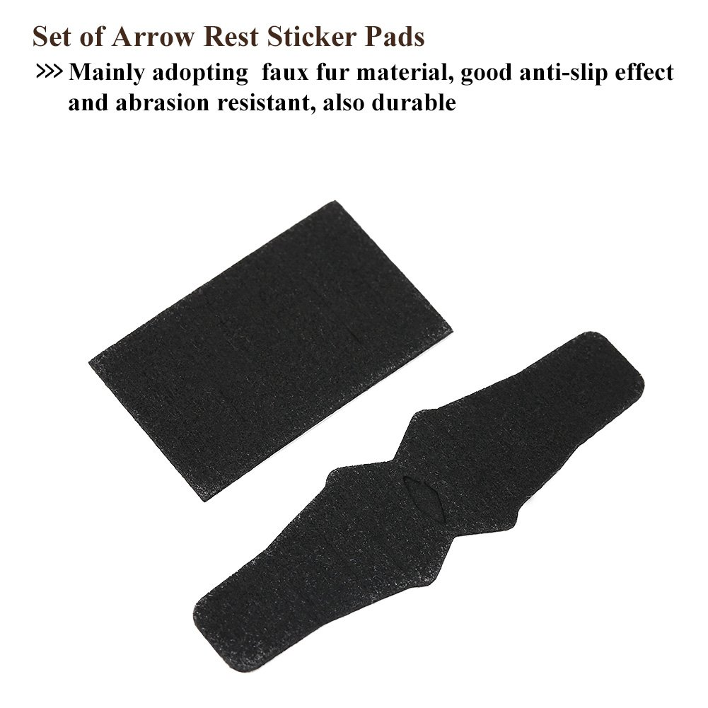 Arrow Rest Anti Slip Sticker Set Compound Bow Hunting Accessory for QAD HDX Drop Away Arrow Rest 2 Set by Vbestlife (Image #6)