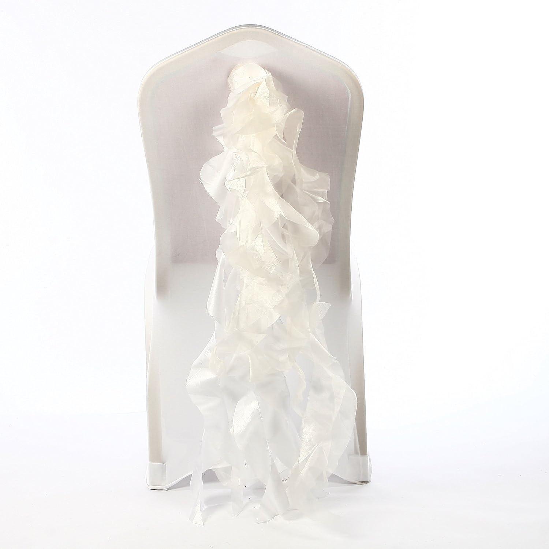 shwedding Textile Fancy椅子サッシ用ウェディングイベント宴会パックof 100   B00XKOVIGS