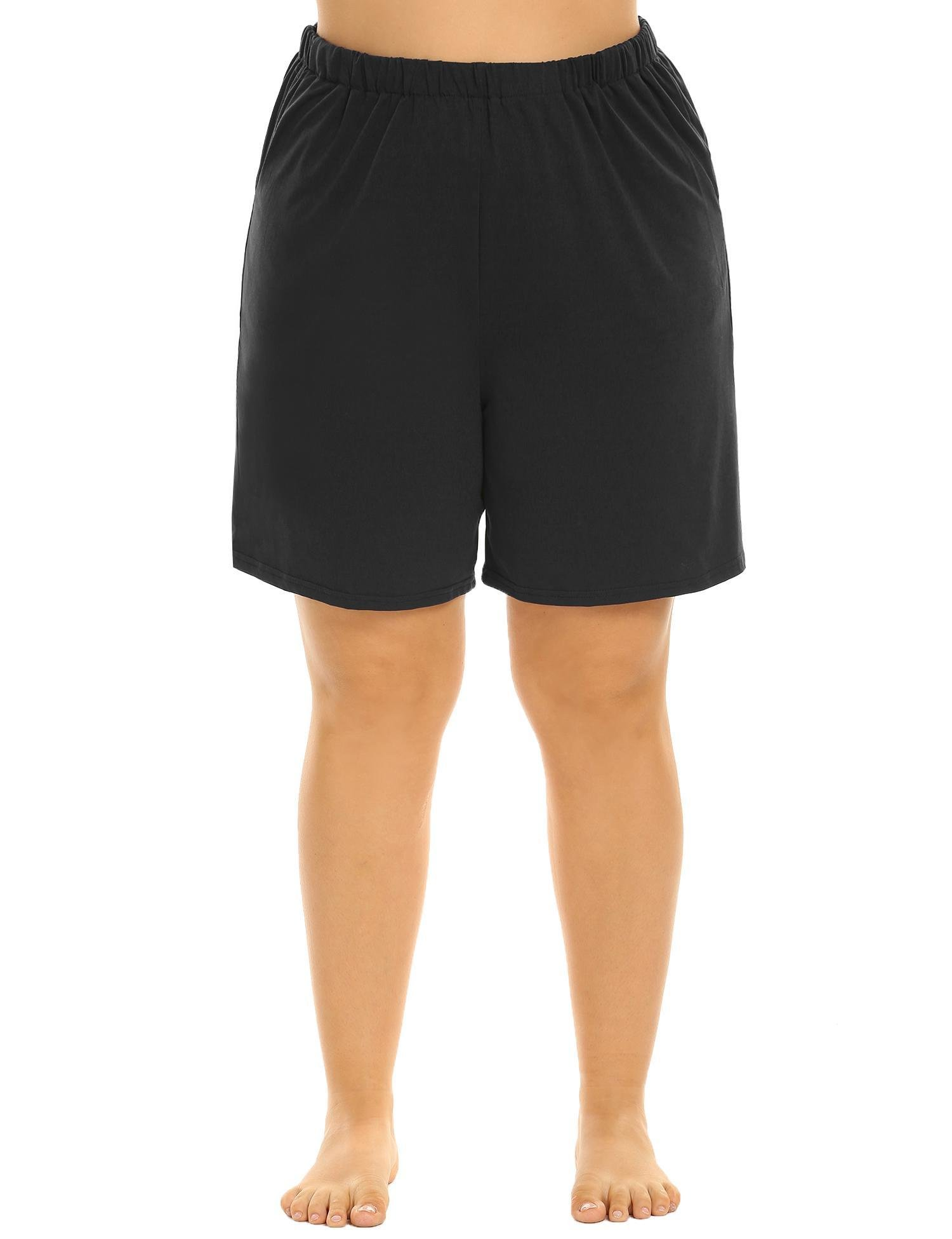 IN'VOLAND Women's Plus Size Soft Sleep Pajama Shorts