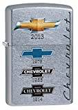 Zippo Chevrolet Logos Pocket Lighter, Street Chrome