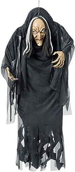 NET TOYS Adorno Bruja de Halloween Figura decoración de Terror Armas artículos de Miedo: Amazon.es: Juguetes y juegos