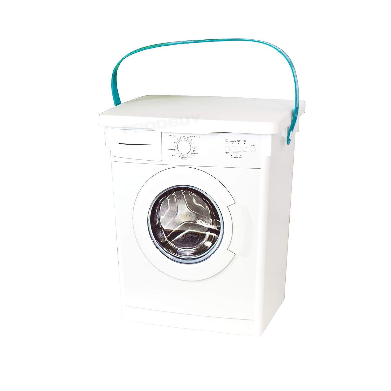 Lavadora lavandería Power/Tabletas Caja de almacenamiento: Amazon ...