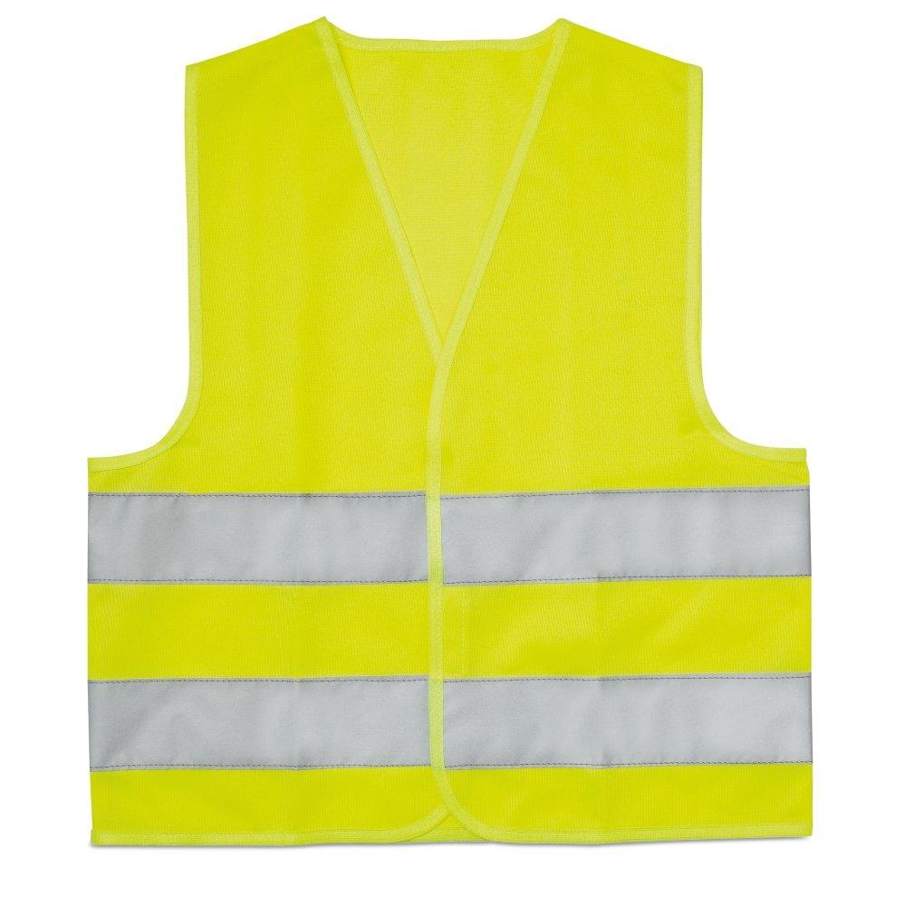 Gilet jaune ré flé chissant (norme CE) Autocollant-immatriculation