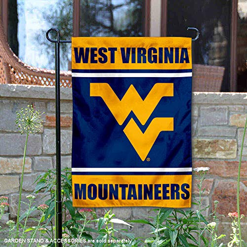 College Flags and Banners Co. West Virginia Mountaineers Garden Flag