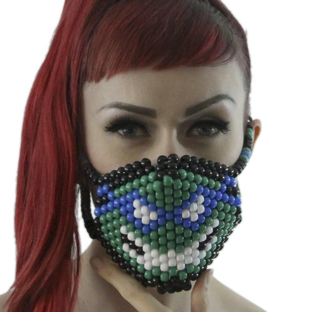 Kandi Gear Mascara Kandi de Leoardo de TMNT Tortugas Ninja ...