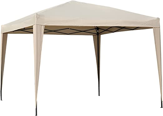 Angel Living Carpa Pop-Up Plegable 3 * 3m, Gazebo Plegable con Bolsa De Transporte, Cenador Plegable para el Exterior: Amazon.es: Jardín
