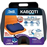 Kabooti Coccyx Seat Cushion, Extended Width (20 inches), Gray