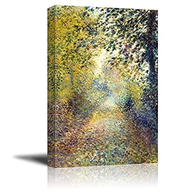 Made With Top Quality, Charming Expertise, in The Woods by Pierre Auguste Renoir Print Famous Painting Reproduction