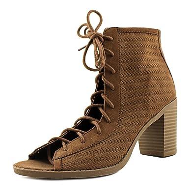 41ea3556d37 American Rag Womens Sidni Fabric Peep Toe Ankle Fashion Boots   Amazon.co.uk  Shoes   Bags