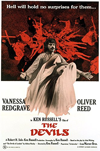 Posterazzi The Devils Oliver Reed (Back) Vanessa Redgrave (Front) 1971. Movie Masterprint Poster Print (11 x 17) Varies