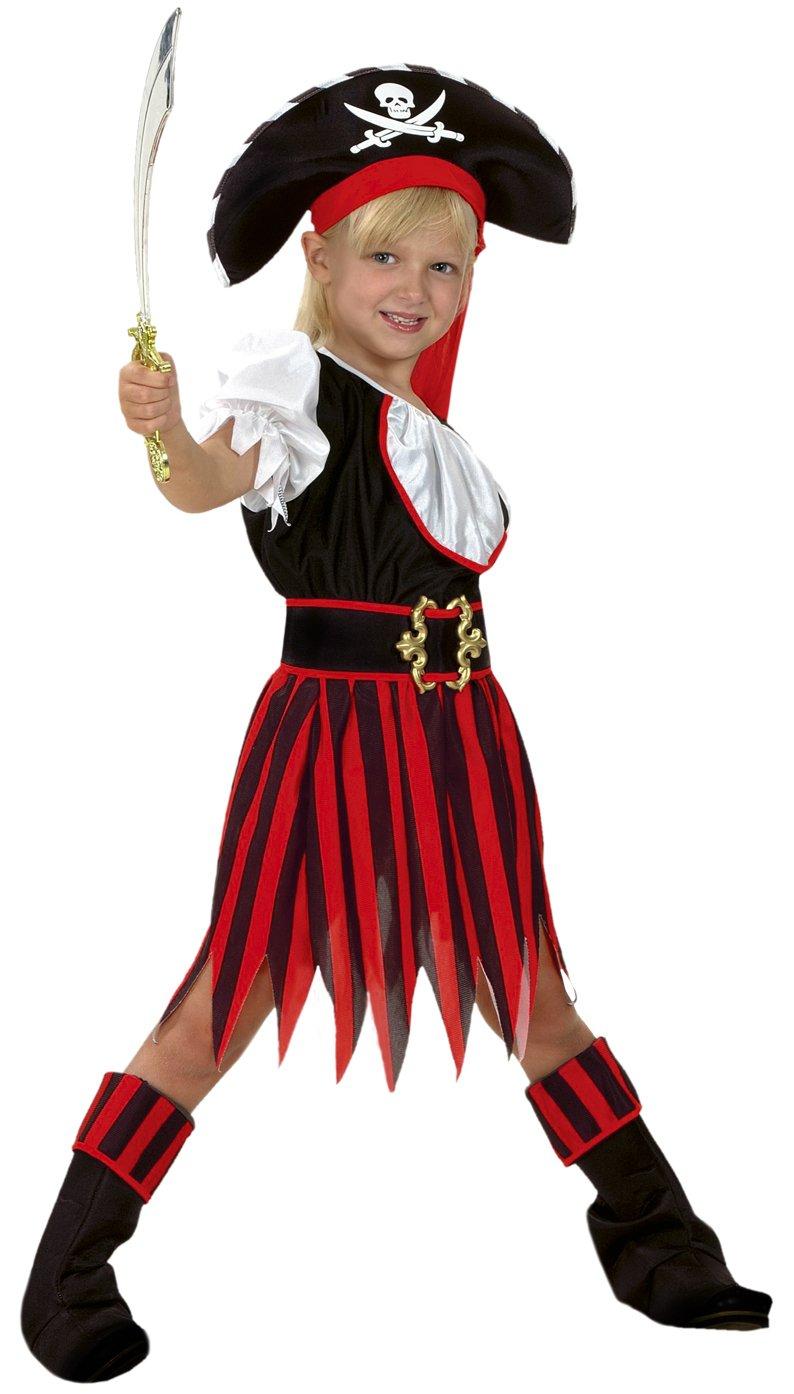 Boys Toys Disfraz de Pirata Niña 5-6 años: Amazon.es: Juguetes y ...