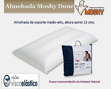 Moshy Almohada Dune Viscoelastica, Firmeza Medio-Alta 75cms ...