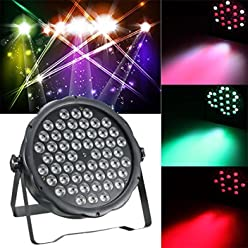 Hot Sale 160W 54 LED Voice-controlled Stage Lamp DMX512 KTV Disco Bar Laser Projector